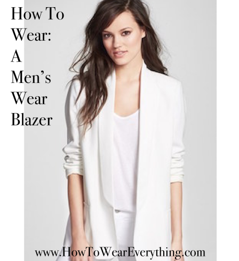 How To Wear: A Men's Wear Blazer