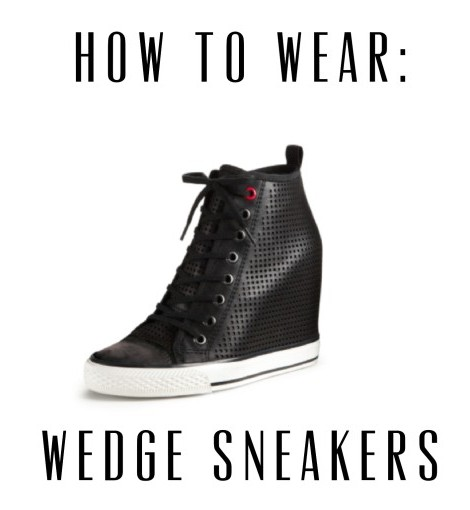 How To Wear: Wedge Sneakers