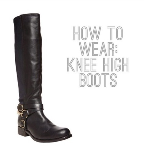 How To Wear: Knee High Boots (What NOT To Do)