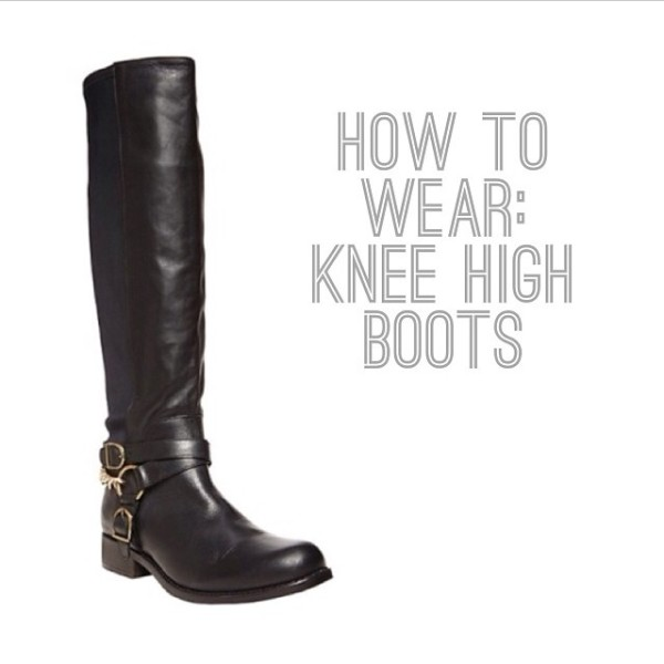 how to wear knee high boots what not to do