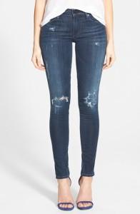 Distressed Skinny Jean
