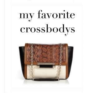How To Wear: A Crossbody Bag
