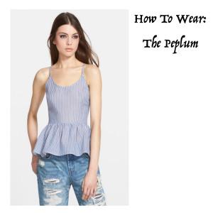 How To Wear: The Peplum