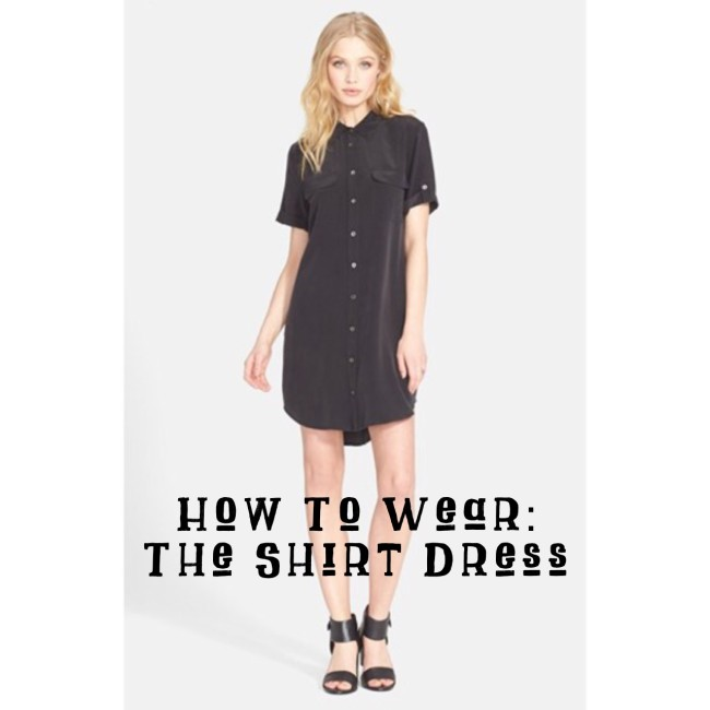 How To Wear A Shirt Dress