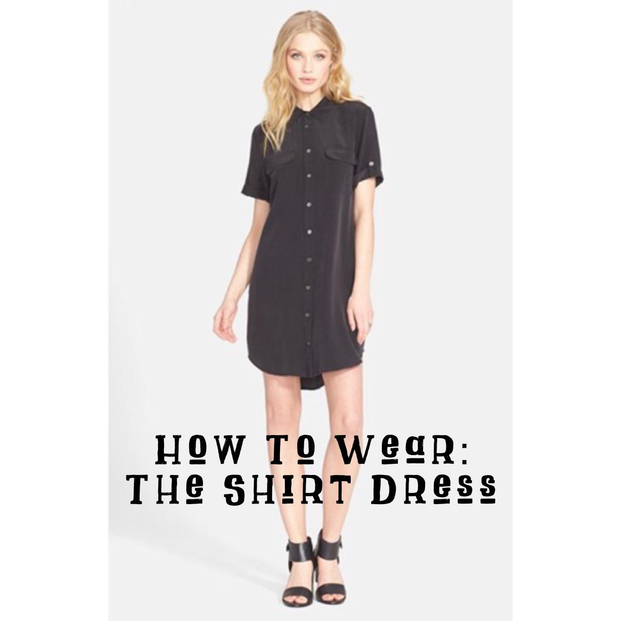 How To Wear A Shirt Dress