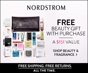 Nordstrom Promo: Free 25 Piece Beauty Gift With Purchase!